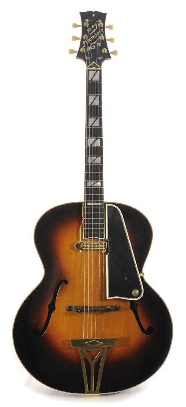 STROMBERG G-3 Sunburst 1949 w/OHSC   Chicago Music Exchange