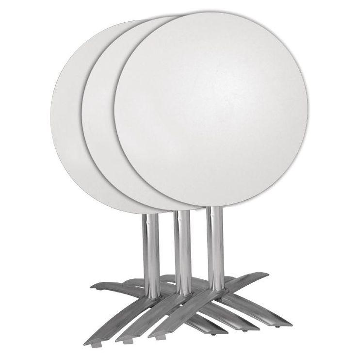 Bolero Flip Top Aluminium Table Base