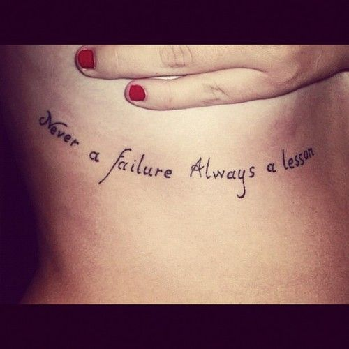 inspiring quotes | Inspirational Quote Tattoos 25 | bodysstyle