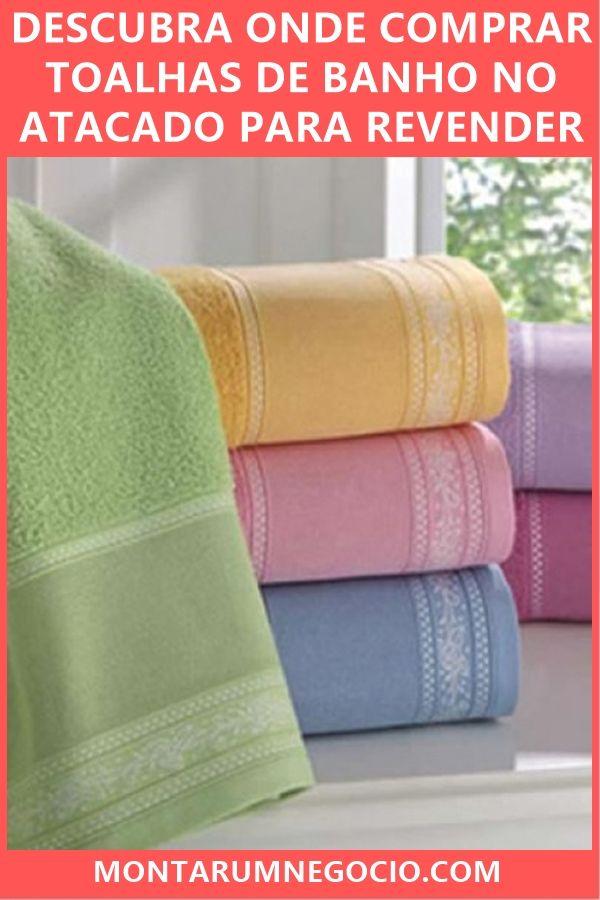 f710503d5916 Descubra onde comprar toalhas de banho no atacado direto da fábrica para  revender