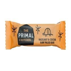 The Primal Pantry Hazlenut & Cacao Paleo Bar 45 g (order 18 for retail outer)