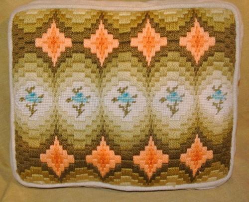 Long stitch and needlepoint mix