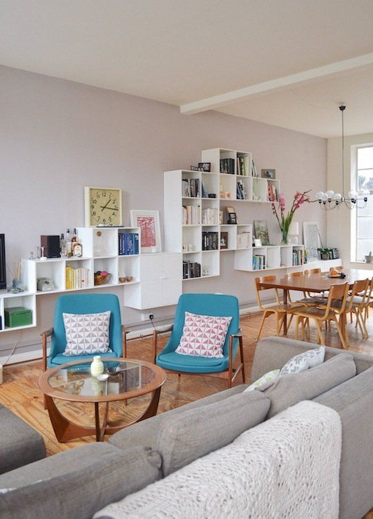 Marie & Ben's Scandinavian Chic Shoe Factory Apartment, House Tour via apartment therapy