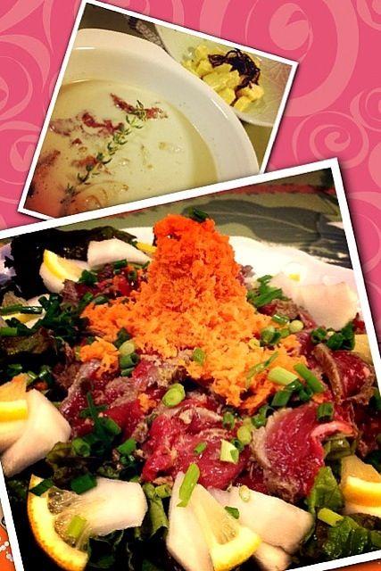 これをすると、野菜サラダがモリモリ食べられます✨ - 262件のもぐもぐ - ポン酢で牛肉のたたき by 1125shino