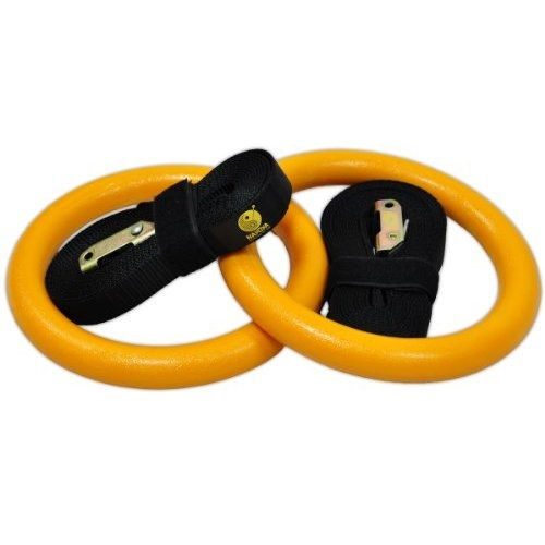 Nayoya Gymnastic Rings for Crossfit Training >> gymastic rings, gymnastics rings, crossfit rings --> http://www.amazon.com/Nayoya-Gymnastic-Rings-Crossfit-Training/dp/B009RA6C1K