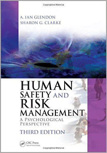 Human Safety and Risk Management PDF