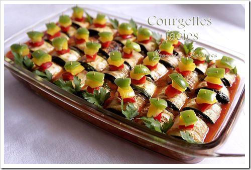 Bonjour, la recette de plat algerien que je vous propose aujourd'hui, c'est la recette de courgette farcie au four, une recette facile, délicieuse et présentable, vous pouvez remplacer les courgettes par les aubergines. Ingrédients 5 a 6 grosses courgettes...