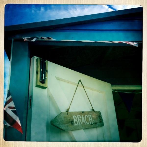 Whitstable beach hut