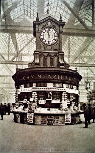 Glasgow Central Station , 1910