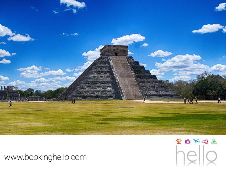 VIAJES EN PAREJA. El Caribe mexicano además de sus extraordinarias playas, cuenta con un importante legado maya que comparte junto con la Península de Yucatán. Sus vestigios arqueológicos son prueba de la actividad de los antiguos habitantes y de la historia que aquí se vivió. Date la oportunidad de visitar con tu pareja Chichen-Itzá, Cobá o Tulum, para conocer más sobre este destino. En Booking Hello, te aseguramos que te sorprenderás. #viajesenpareja
