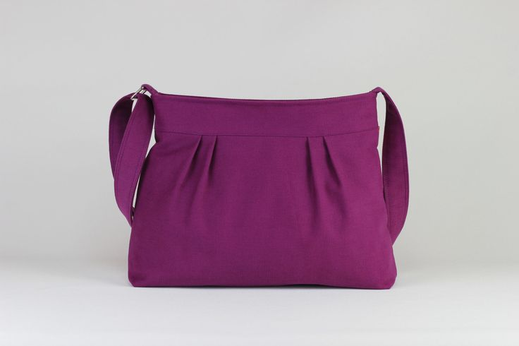 $33.00  Purple Bag Small and Sweet Washable Teen Girl Purse Pleated Bag Canvas Shoulder bag Crossbody Bag Gift For Her Different Color Are Available by hippirhino         #purses  #retro  #Luggage  #bags  #mother#tote  #special  #special  #tote