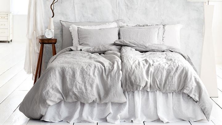 Best Light Gray Bedding ♥Gray♥ Pinterest White Apartment 400 x 300