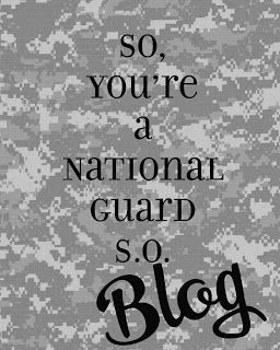 Army National Guard girlfriends, there's finally a blog for you!