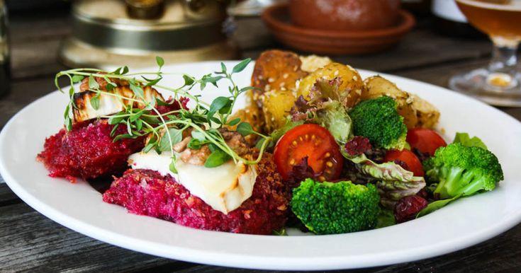 Saftiga rödbetsbiffar som gärna smaksätts med pepparrot, chevré eller rostade nötter och frön.