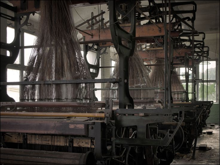 Old Jacquard looms in an abandoned textile mill I will rescue ones like these. I might not be able to save these but one day I will be able to resuce them from their forlorn lives