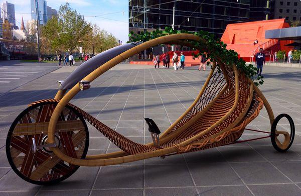 Das Bambusfahrrad von Alexander Vittouris