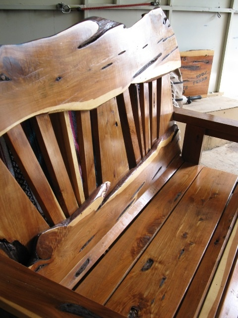 All Of Our Porch Swings Are Handmade From Scratch Using