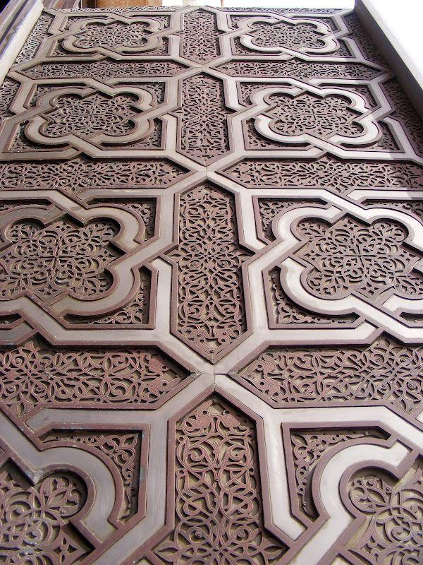 Best MOROCCO ARTISANAT MAROCAIN Images On Pinterest - Carved wood lace like lighting design inspired islamic decoration patterns