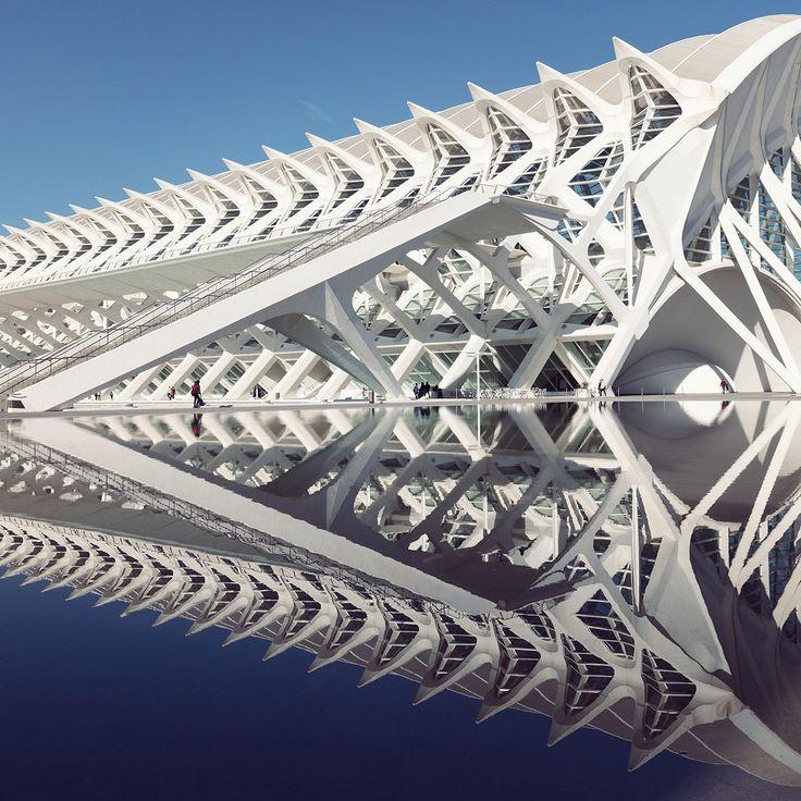 Santiago Calatrava's City of Arts and Sciences Through the Lens of Photographer Sebastian Weiss