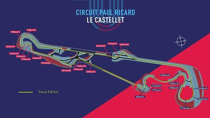Le tracé du Grand Prix de France dévoilé Grand prix, Le