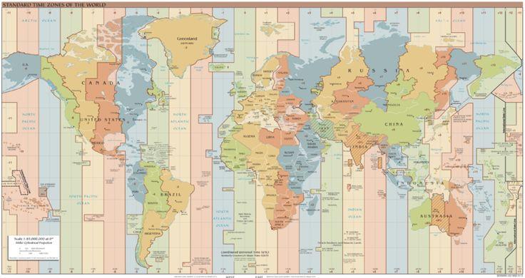 Huso horario - Wikipedia, la enciclopedia libre