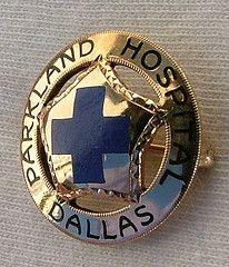 Parkland Hospital School of Nursing Dallas, Texas - Early Graduation Pin