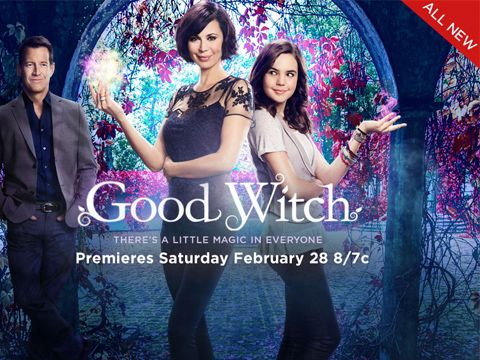 Cassie Nightingale & Dr. Sam Radford star in this this extended preview of Hallmark Channel's brand new original series, Good Witch!