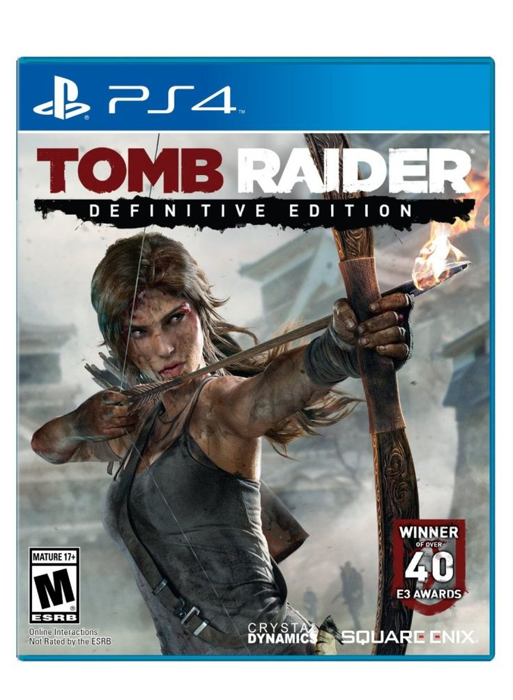 Tomb Raider: Definitive PS4 Edition (rebuilt from scratch for next gen gaming) Fuck. Yes.