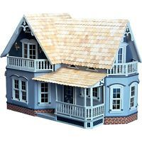 Greenleaf - The Magnolia Dollhouse - Wood / Wooden Dollhouse Kit