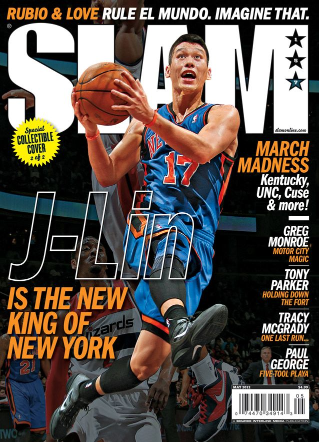 Jeremy Lin on the cover SLAM