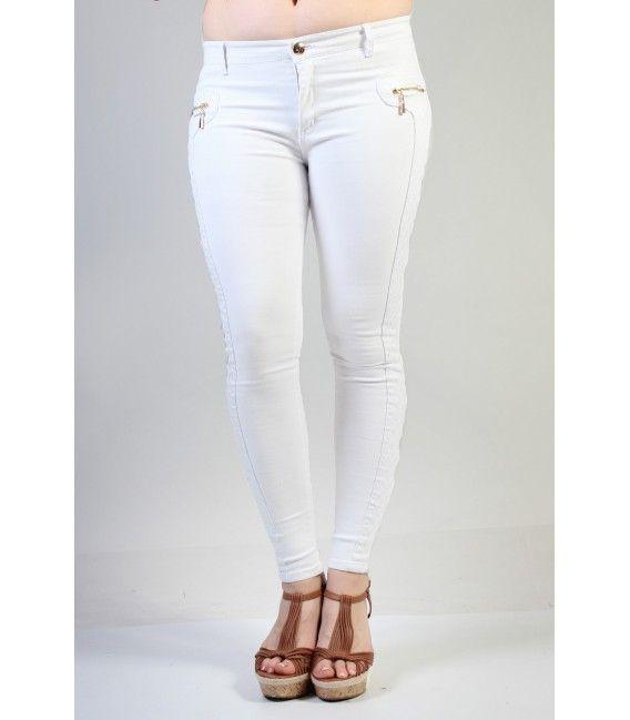 Exceptionnel Mais qui n'a pas de pantalon blanc dans sa garde robe ? Si c''est  SB68