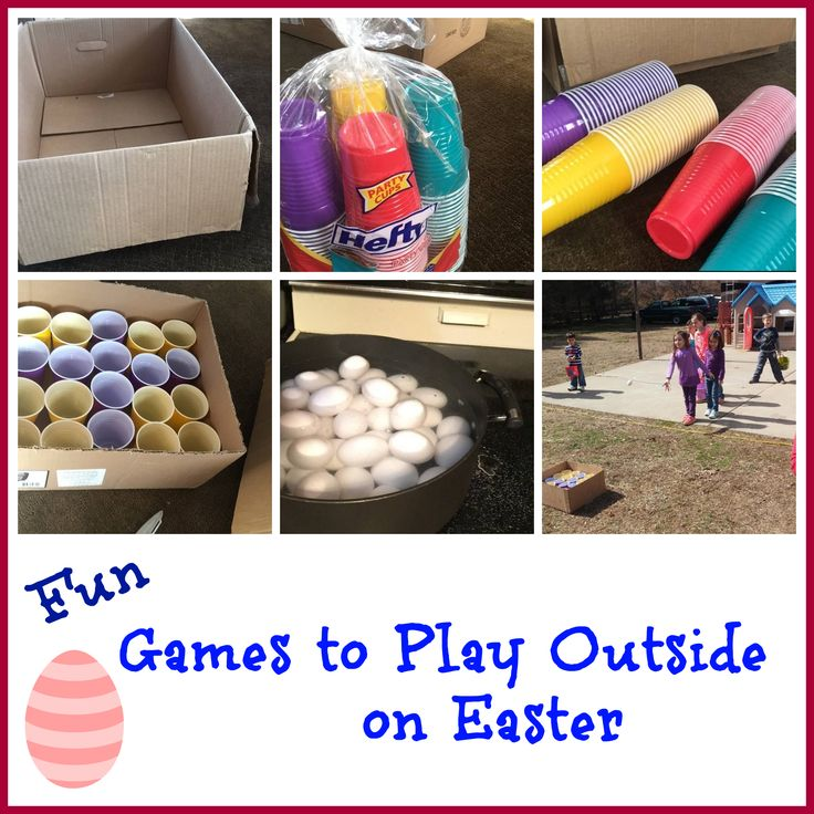 Fun Games to Play Outside on Easter that are cheap, easy and who knew throwing eggs could be sooo much FUN!
