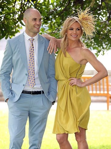 Tom Harley and Sonia Kruger