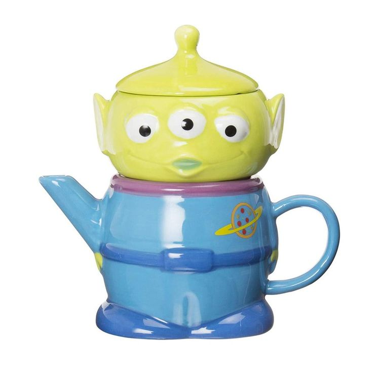 Disney Pixar Toy Story Little Green Men Teapot & Cup ...