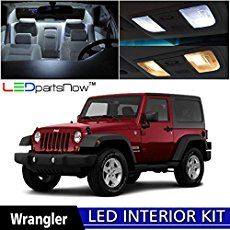 Jeep Wrangler JK Interior Lighting Browse our wide selection of Jeep Wrangler JK Interior Lighting to find the best prices for your Wrangler 2-Door or 4-Door. In this category you will find JK Wrangler Interior Lighting parts for the 2007, 2008, 2009, 2010, 2011, 2012, 2013, 2014, 2015, 2016, and 2017 Jeep Wranglers. You can either select a product category or use our search box to find specific items in our store. Feel free to use our filtering options to sort by popularity, price or…