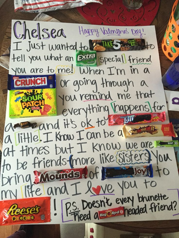Wedding Gift For Your Best Guy Friend : ... friend gifts arthritis candy bars bff birthday gifts best friends diys
