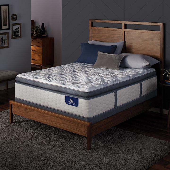 Serta Alima Terrace Super Pillow Top Firm Mattress & Box Spring Set ...