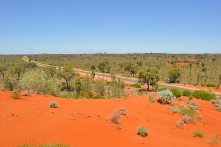 The Outback, Aus. Awesome colours.