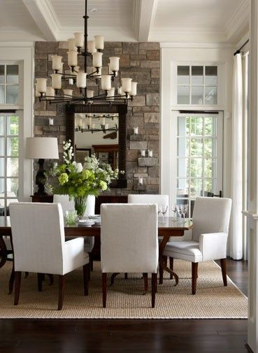 nice home dining rooms. dining room  neutral with lots of architectural elements like the beams and bead board ceiling 80 best Dining Room Ideas images on Pinterest Centerpieces