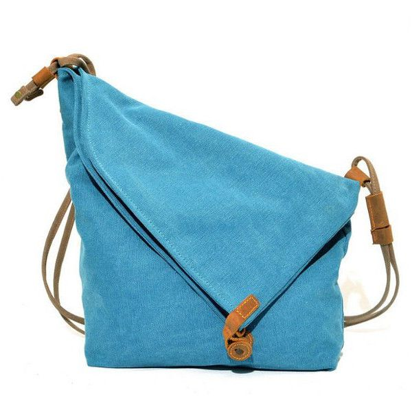 Women Vintage Messenger Bag Genuine Leather Canvas Crossbody Bag ❤ liked on Polyvore featuring bags, messenger bags, genuine leather messenger bag, vintage leather messenger bag, crossbody bags and canvas crossbody
