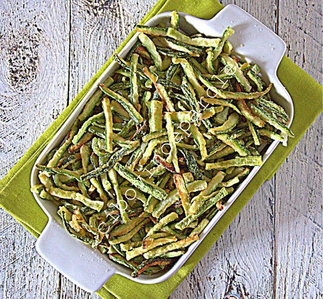 Zucchine fritte a fiammifero. #ricetta di @annamolino