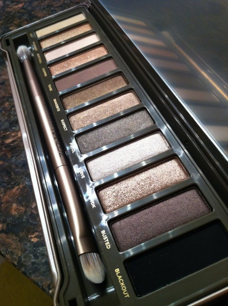 Naked 2 by Urban Decay {I enjoy, and have, this color palette}