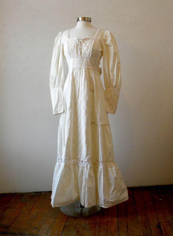 Vintage Gunne Sax Dress Casual Hippie By