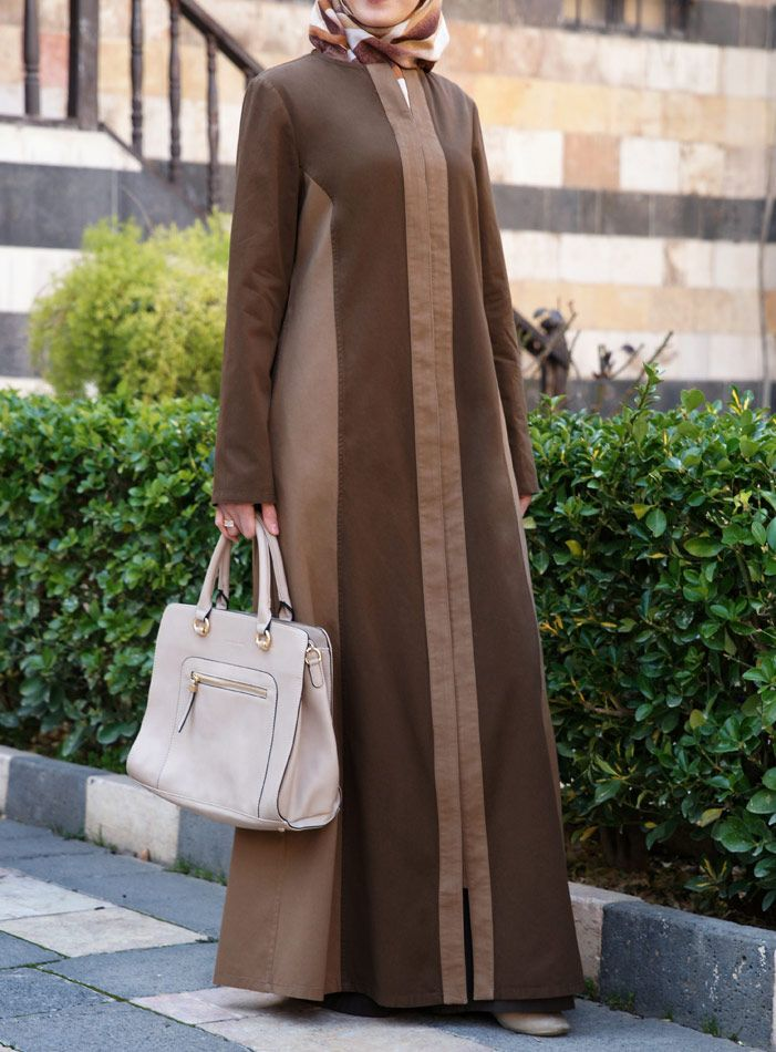 SHUKR USA   Dual Colored Jilbab