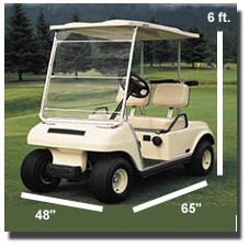 Golf cart dimensions