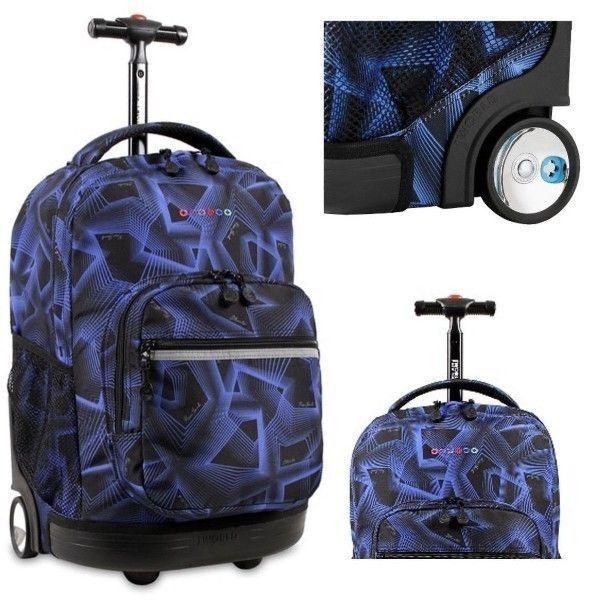 Boys #Rolling Backpack J World New York Sunrise 18 Inch Rolling Backpack Disco  #JWorld #Backpack #ShoppingOnlineDeals #DanAnnStore #Buyablepins #Kids #Bookbags