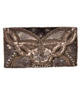 Diwaah High Embellished Hand Clutch. Just for Rs 999/-
