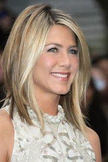 Corte de cabelo chanel longo da Jennifer Aniston                                                                                                                                                     Mais