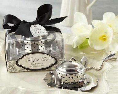 """Tea for Two"" Teapot Tea Infuser"