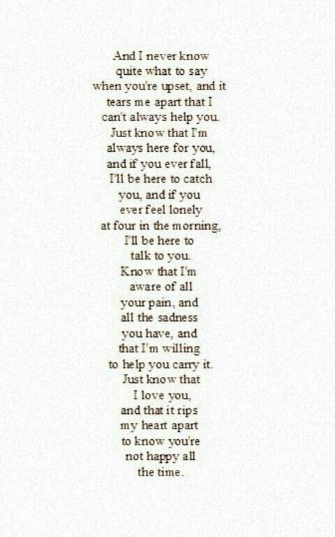 This is everything I needed to say.. And I didn't say in that other pin, but I know you're afraid to lose me, but I promise you, no matter what, you're not gonna lose me forever.
